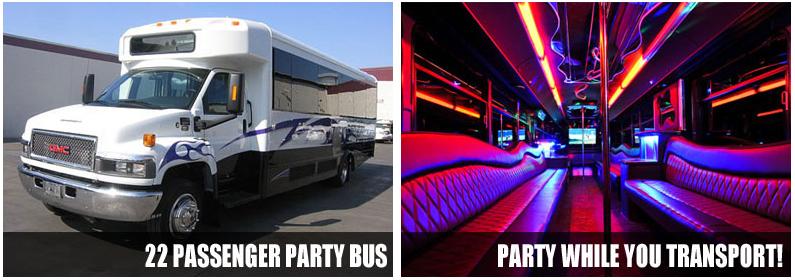 Party Bus Rentals Winston Salem