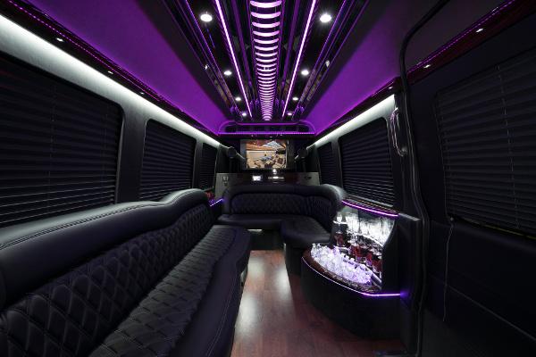 12 Passenger Party Buses Winston Salem
