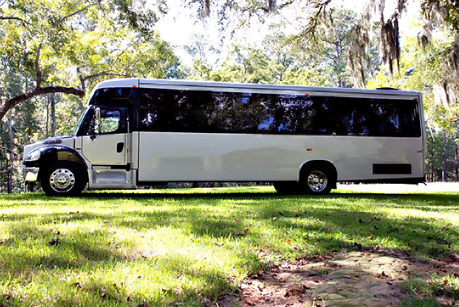 Salem-Winston 40 Person Shuttle Bus