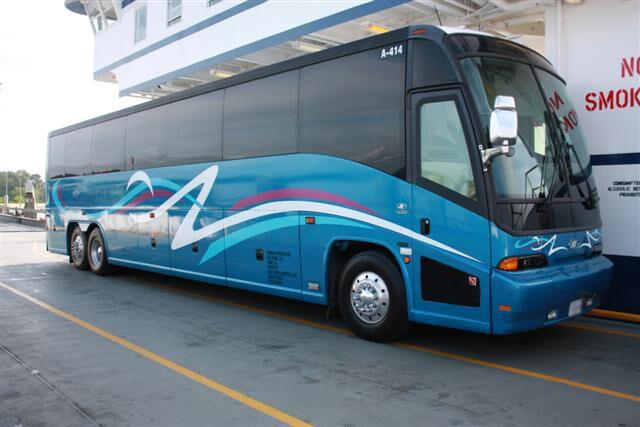 Salem-Winston 50 Passenger Charter Bus